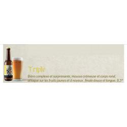 Bière triple 33cl