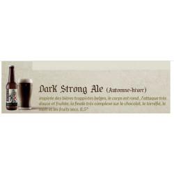 Bière Dark Strong Ale 33cl