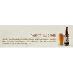 Bière Saison au Seigle 33cl